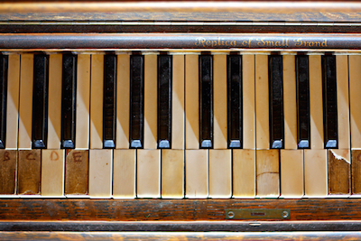 Piano Key Repair and Restoration