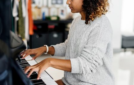 How Playing Piano Can Create Mindfulness