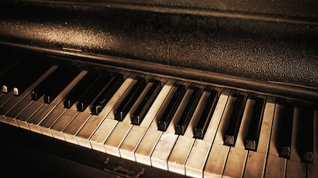How To Clean Your Piano Key Tops