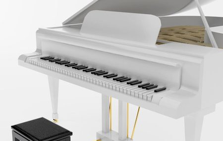 Why Is A Grand Piano Lid Open?