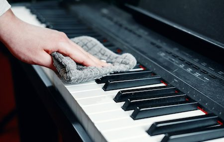 Cleaning Your Piano To Reduce Coronavirus