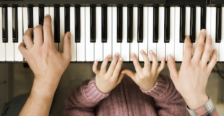 How Piano Playing Impacts Child Development