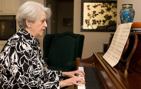 Piano Practice and Cognitive Function In Elderly